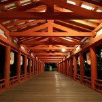 厳島神社正月回廊